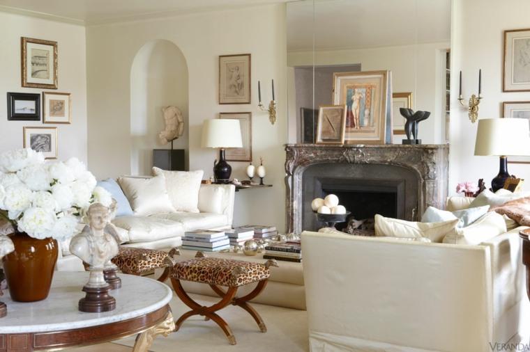 original salon moderno color beige