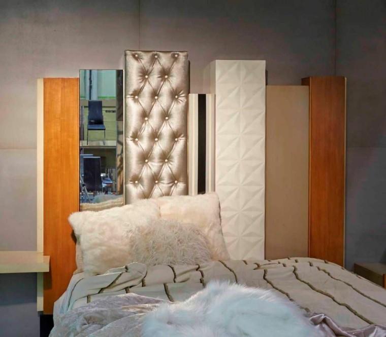 Cabeceros de cama modernos - tendencias de 2016 -