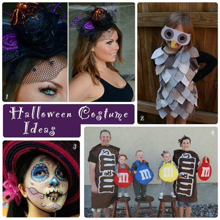 originales ideas disfrazarse Halloween