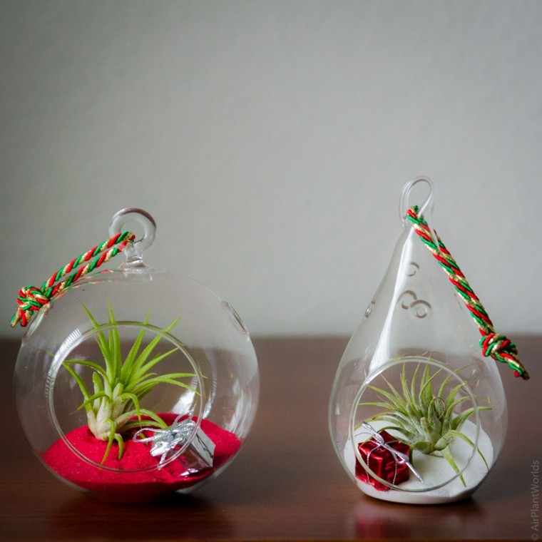 originales adornos colgantes vidrio