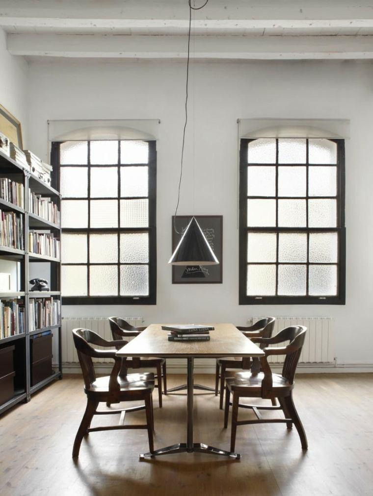 original diseño comedor biblioteca
