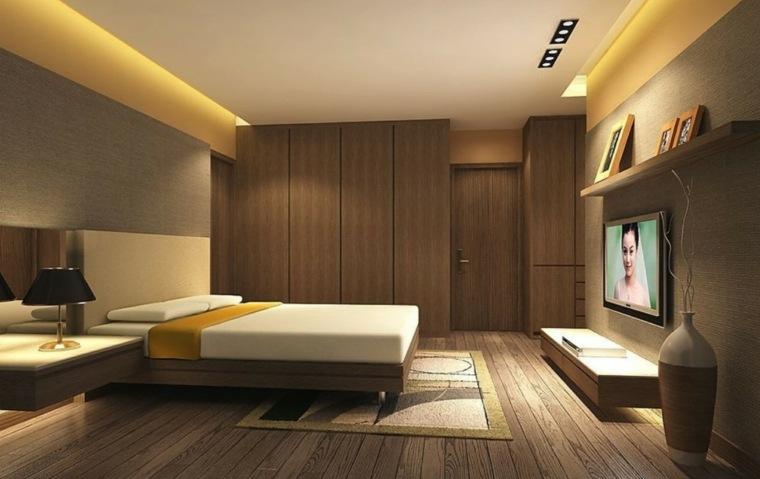 Madera para paredes para el dormitorio for Paneles para paredes interiores