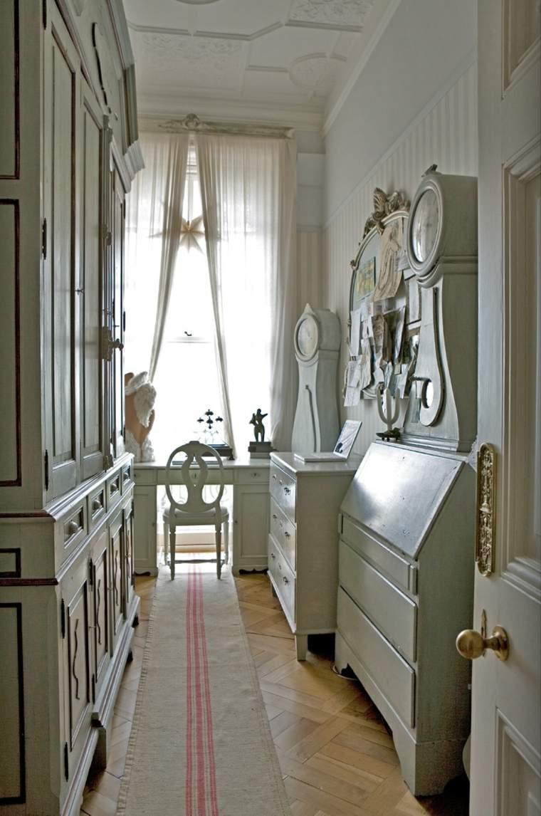 decorar pasillos estrechos y entradas