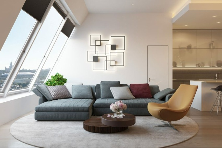 proyecto moderno salon diseno shamsudin kerimov architects ideas