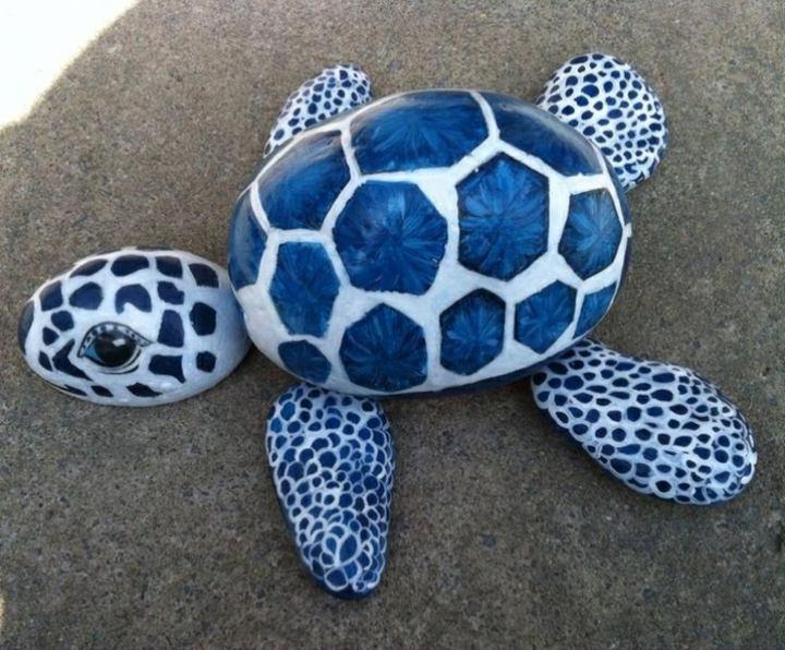 proyectos diy tortuga azules imagenes