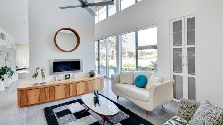 reforma de un piso sala de estar