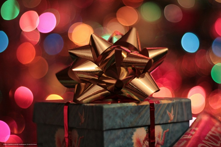 regalo de navidad moderno