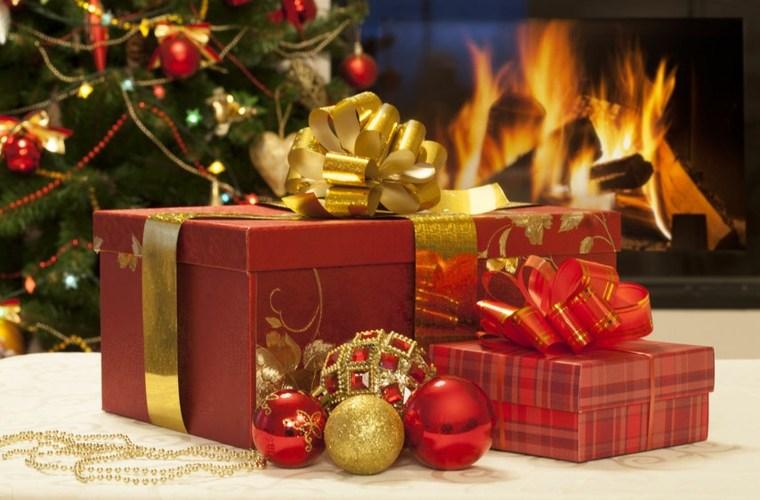 regalos navideños envolturas modernas