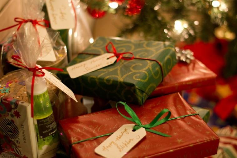 regalos navideños etiquetas