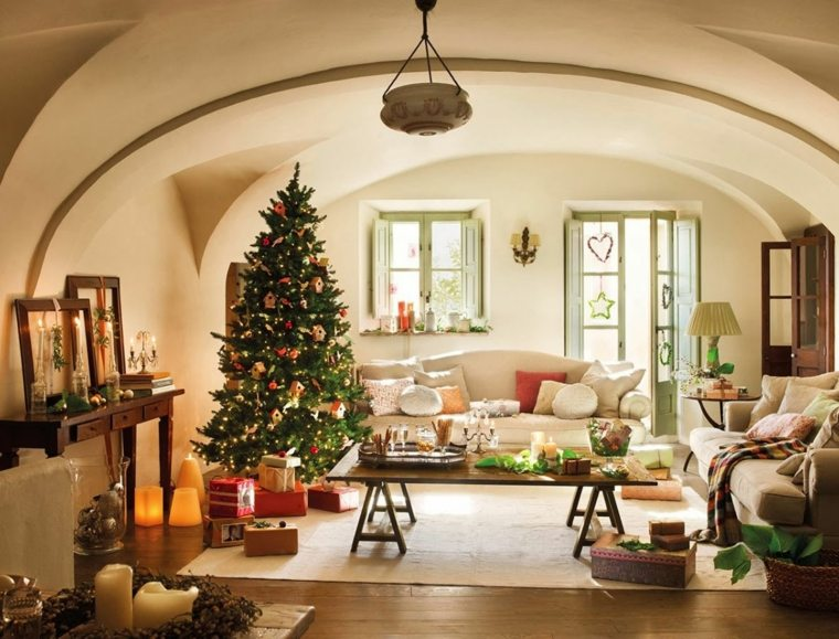 salon diseno decoración navidad
