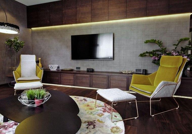 salon moderno disenado carlson design home ideas