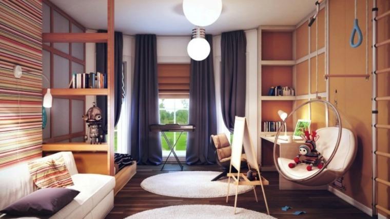 silla hamaca habitación