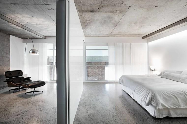 suelo-techo-hormigon-diseno-dormitorio