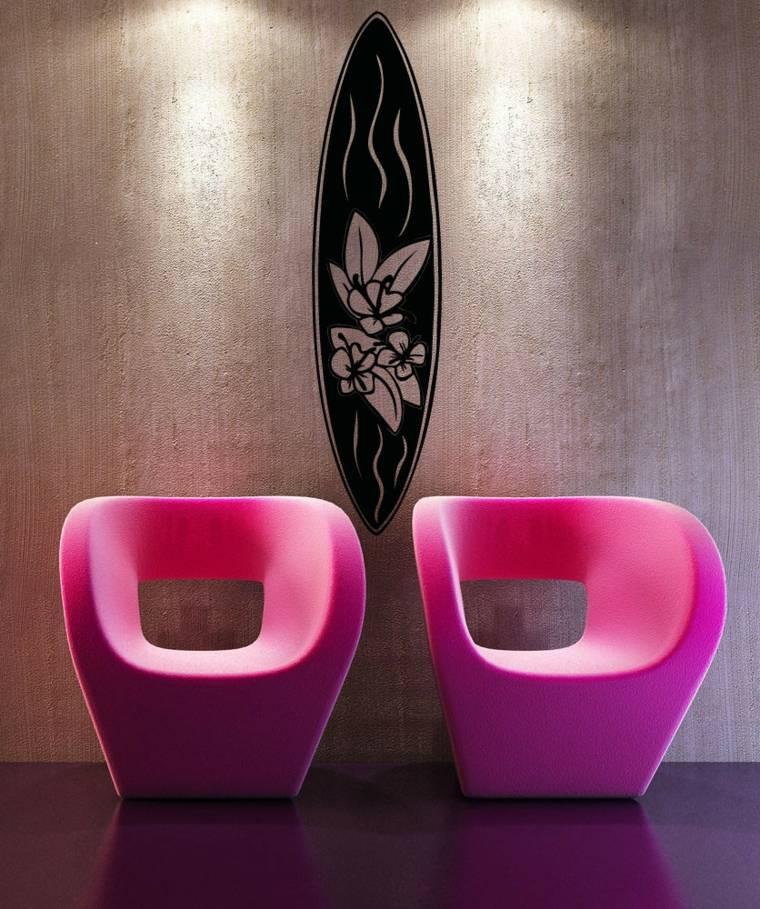 tablas de surf decorar interiores