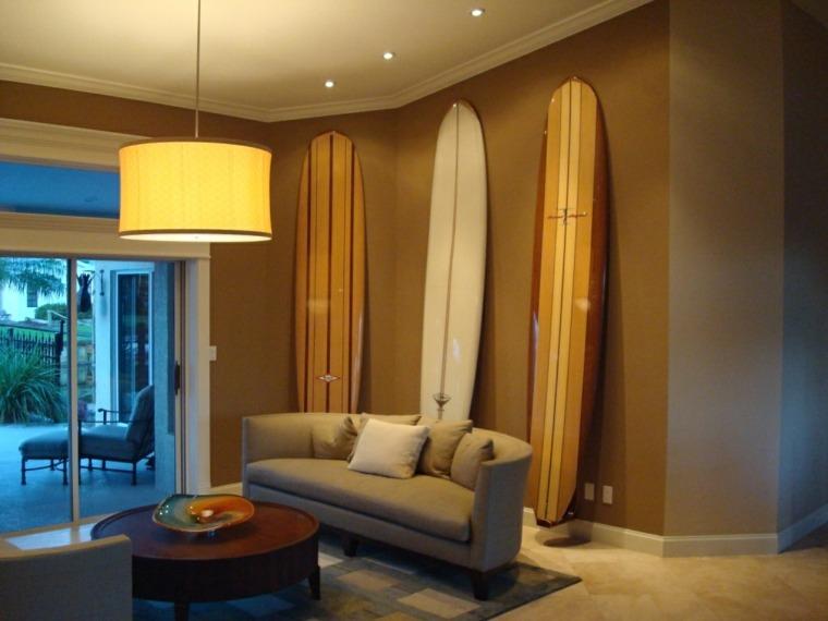 tablas de surf decorar salón