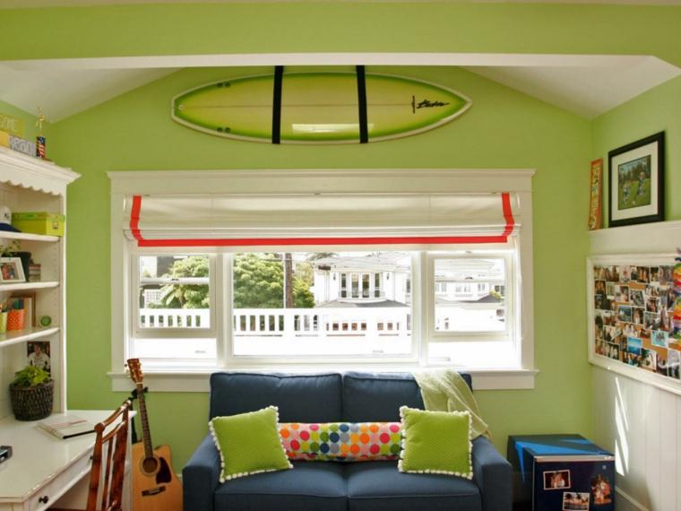 tablas de surf decorar salones