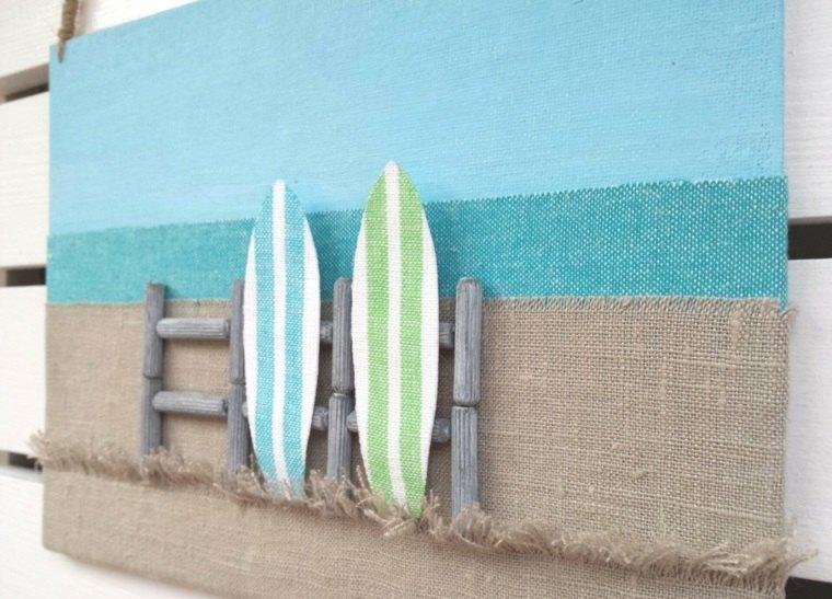 tablas de surf dibujadas