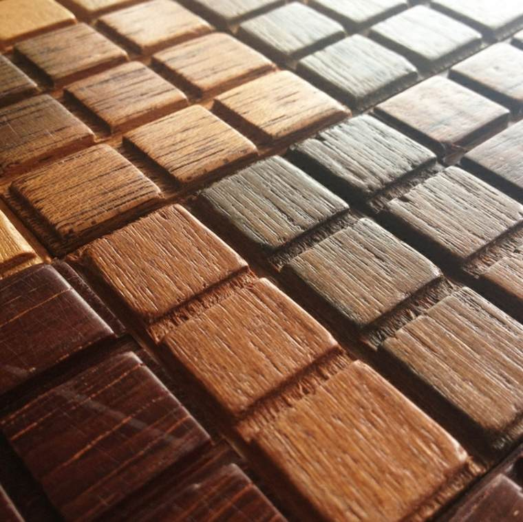 tableta chocolate madera natural