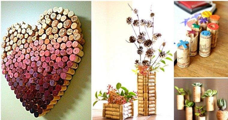 Tapones de corcho decoraci n y manualidades for Reciclaje manualidades decoracion