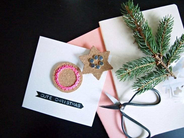 tarjetas-de navidad originales diy casa interesantes ideas