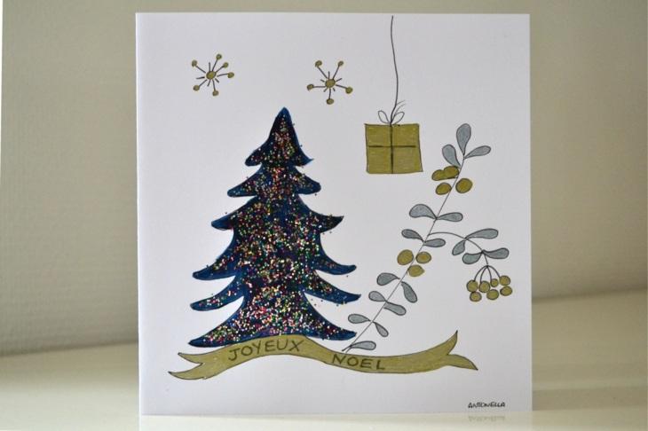 Tarjetas de navidad originales que puedes hacer en casa -