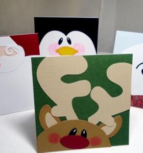 Guirnaldas de navidad cincuenta modelos originales - Hacer tarjetas de navidad originales ...