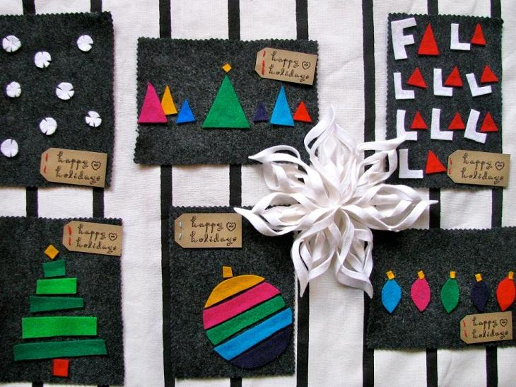 tarjetas navidad varios disenos distintos ideas