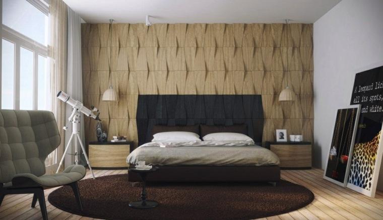 textura de pared dormitorio