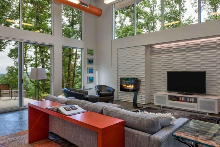 texturas de paredes interior casa