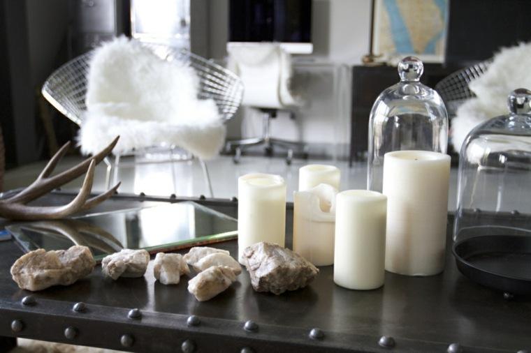 velas grandes decorativas interior