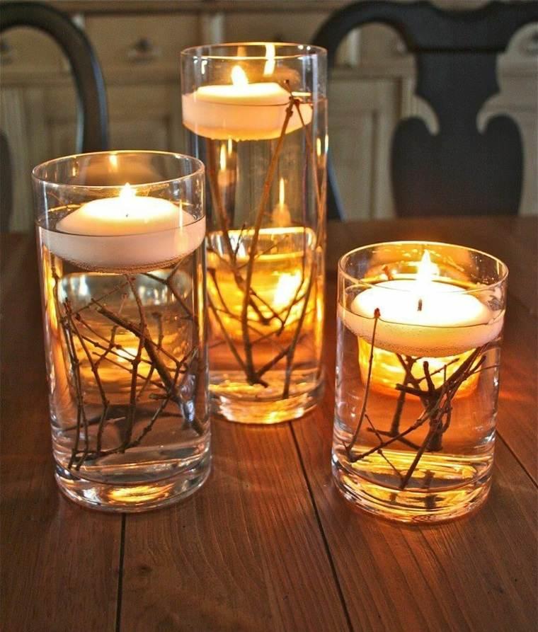 velas para decoración interior