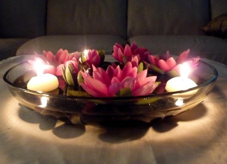 velas para decorar mesa