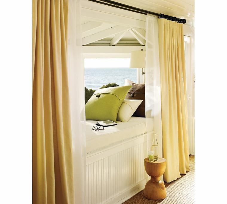 ventanas modernas asiento