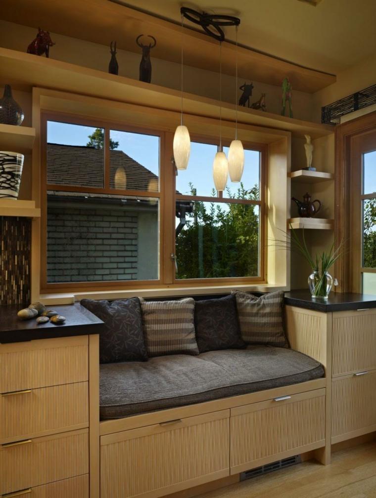ventanas modernas sala de estar