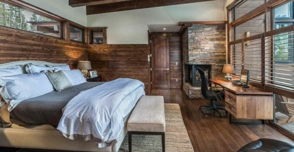 Dormitorios rústicos con belleza genuina