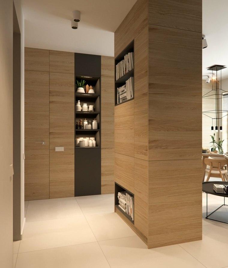 columna espacio almacenamiento extra