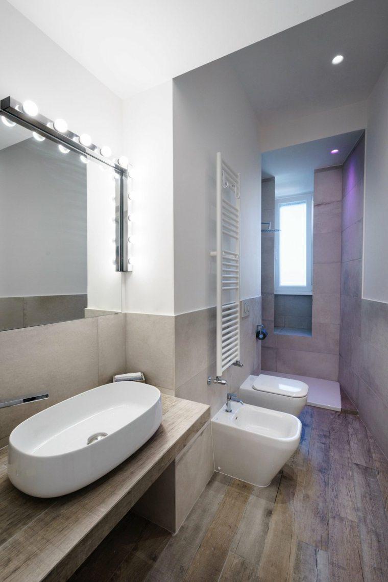 cuarto baño diseño moderno