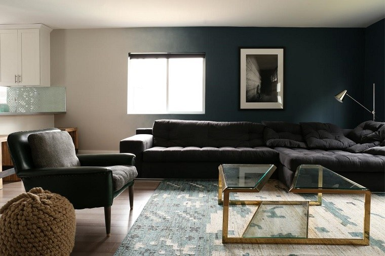 caitlin mccarthy design salon paredes sofa negro ideas