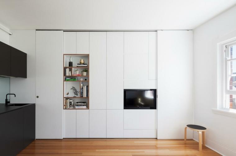 apartmento color blanco