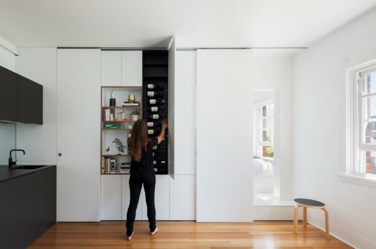 darlinghurst apartmento mueble modular blanco