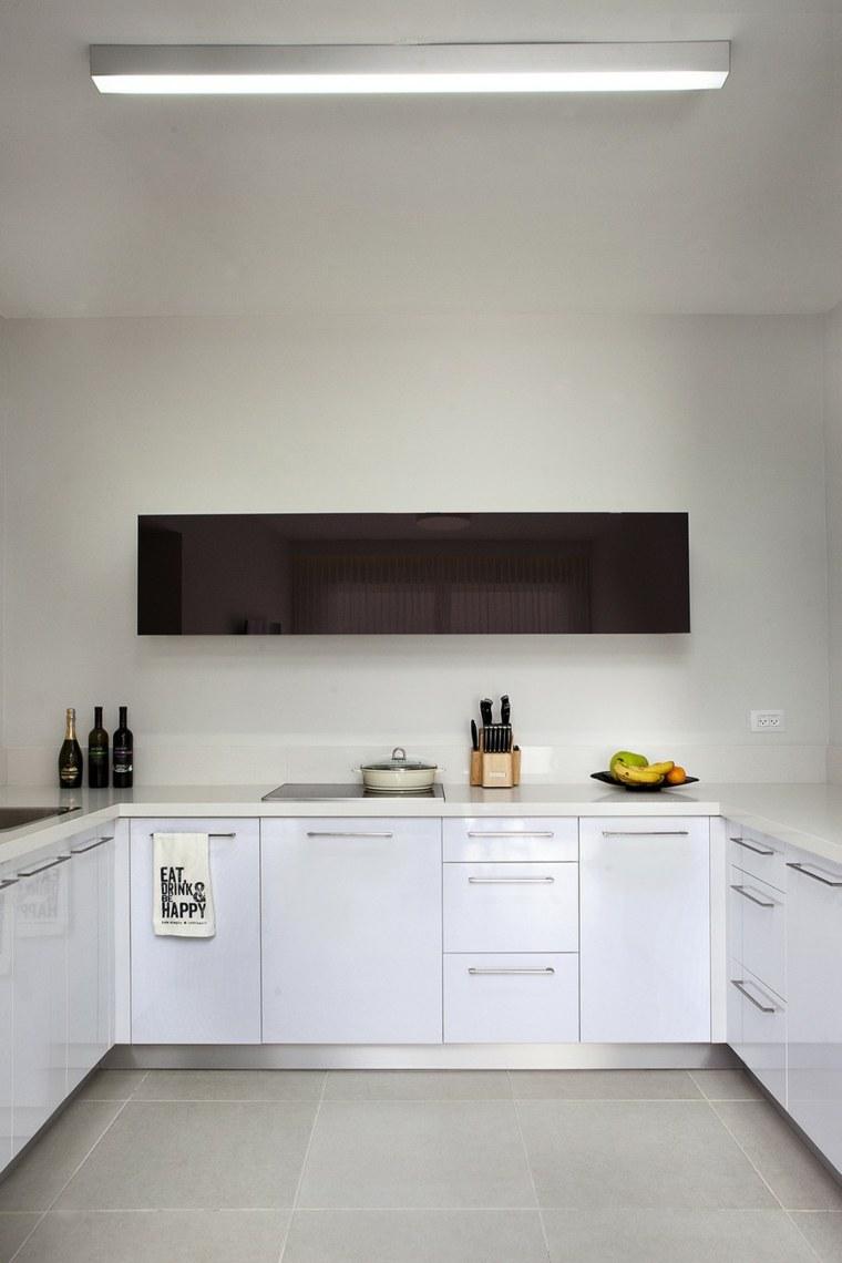 decoracion pisos pequenos cocina moderna