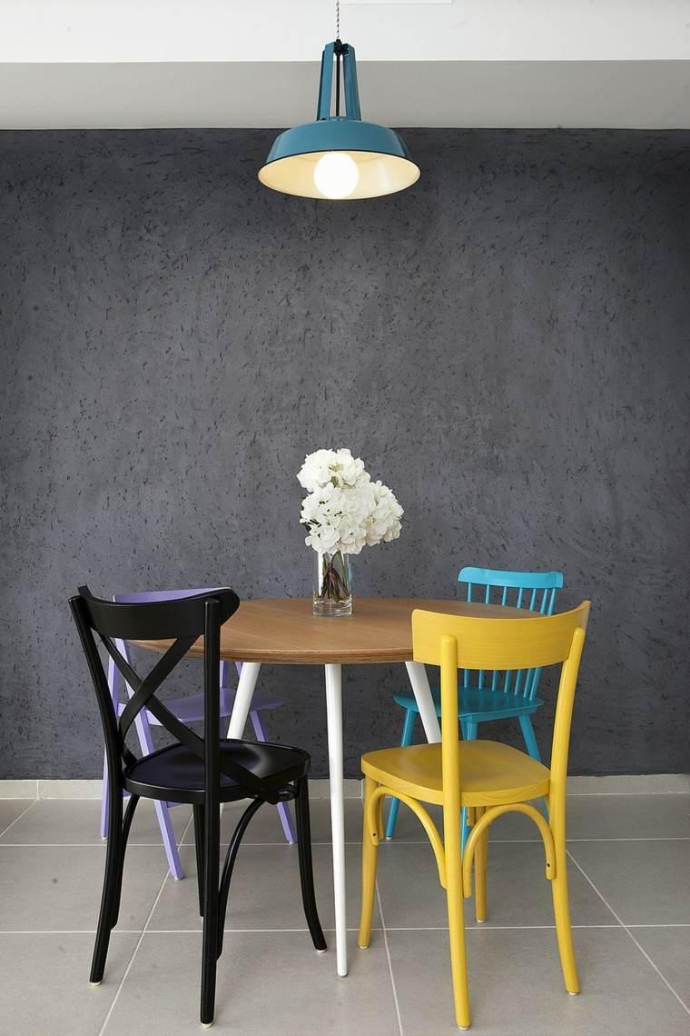 decoracion pisos pequenos salón comedor
