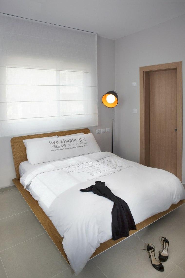 decoracion pisos pequeños dormitorio habitacion