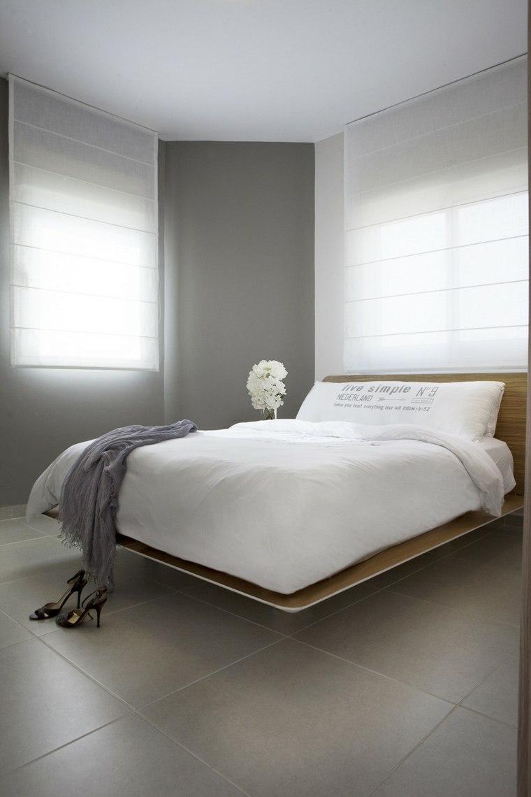 decoracion pisos pequenos cama