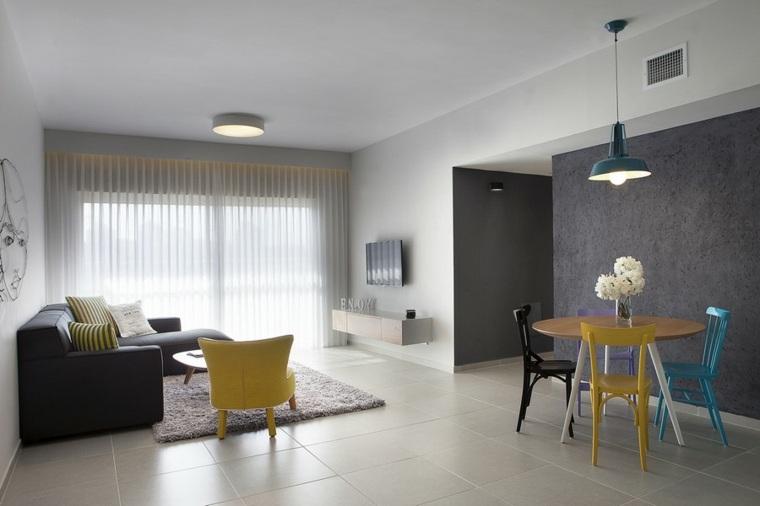 decoracion pisos pequeños Estudio Dana Shaked