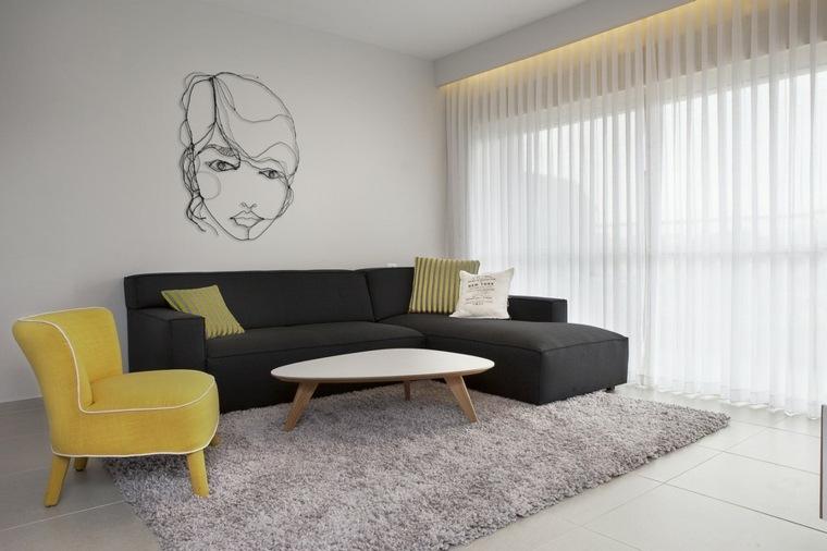 decoracion pisos pequeos sala estar