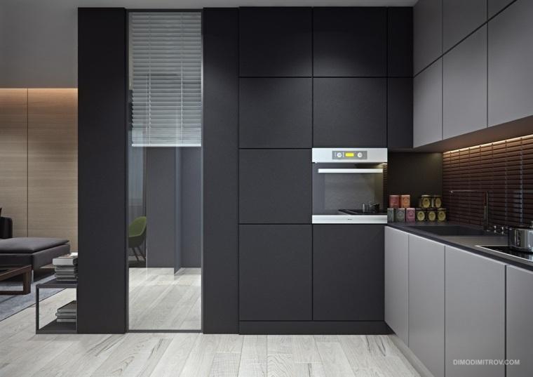 dimo dimitrov cocina color gris
