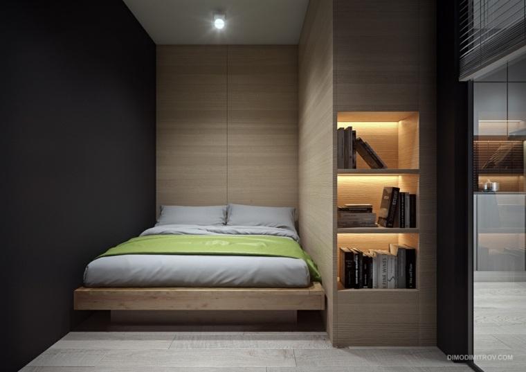 dormitorio moderno escondido diseño