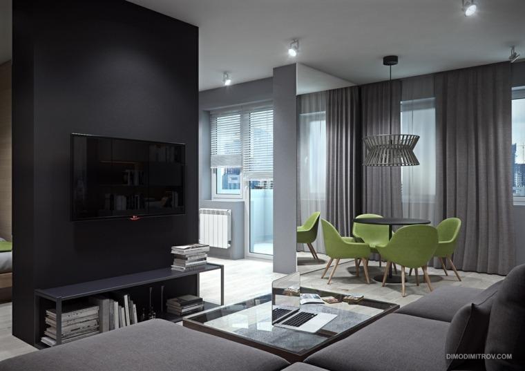 diseños interiores modernos sala