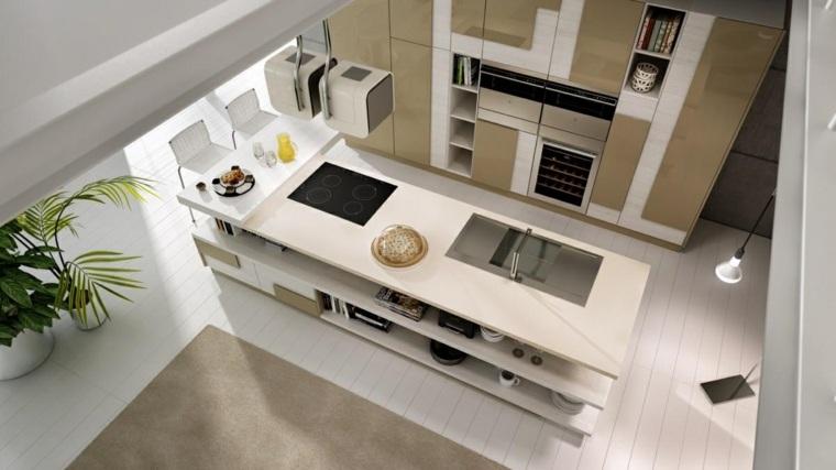 u6 studio cocina moderna diseño